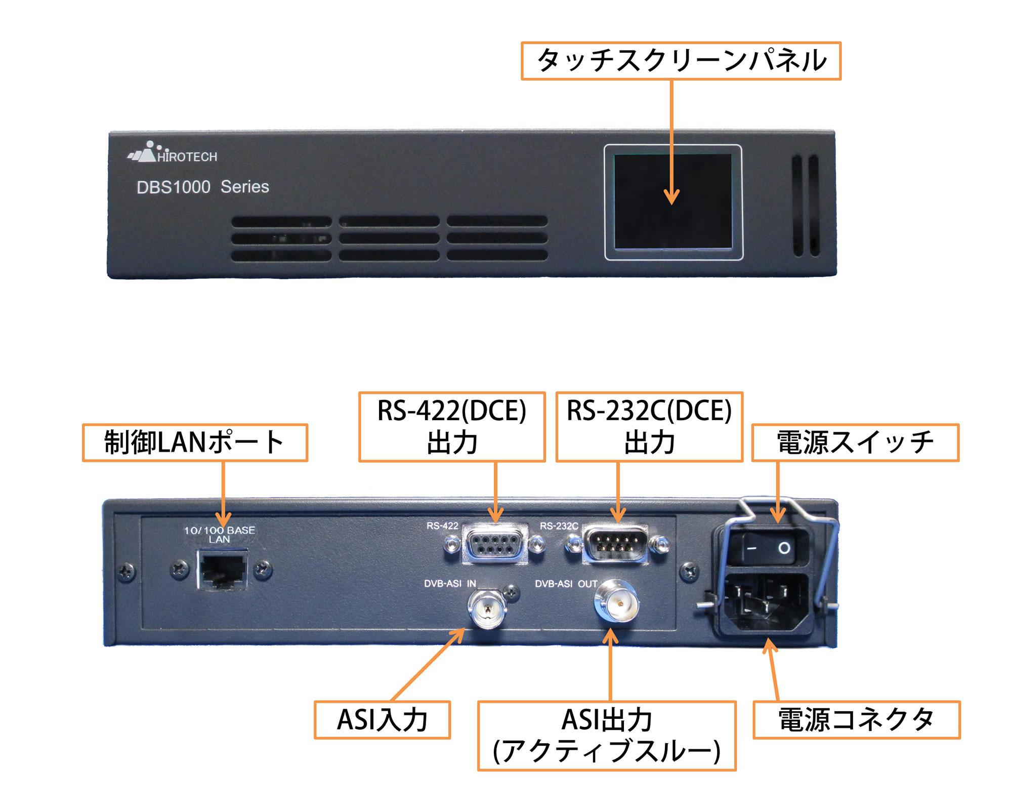 DBS1010インターフェース